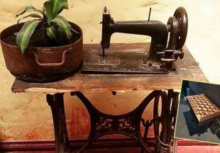 История одной переделки: как старая швейная машинка стала. необычным компьютерным столом